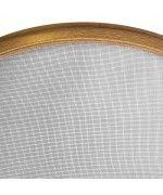 Insektenschutz als Spannrahmen Fliegengitter für Rundfenster