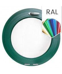 Rundfenster Kipp RAL Farben lackiert Kunststoff