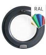 Rundfenster Kipp 550 mm Farbe RAL 9006