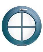 Rundfenster Kipp RAL Farben mit Innenliegenden Sprossen