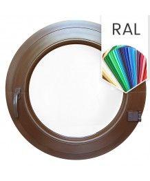 Rundfenster Dreh RAL Farben lackiert Kunststoff