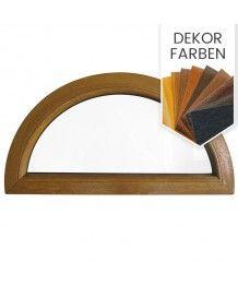 Halbrundfenster Fest Dekorfarbe Kunststoff