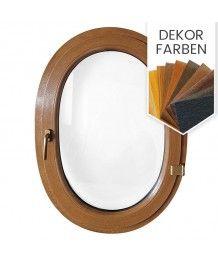 Ovalfenster Dreh Dekorfarbe Kunststoff