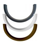 Winkelprofile aus Kunststoff für runde Fenster