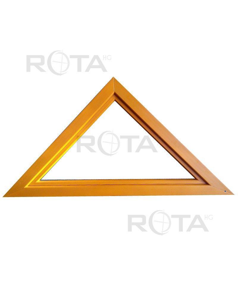 dreiecksfenster kipp 1800x900 lackiert in ral farbton. Black Bedroom Furniture Sets. Home Design Ideas