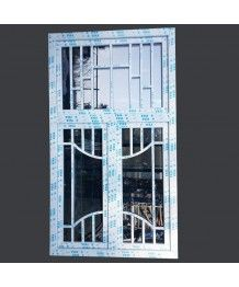 Fenster mit Individuelle Sprossen Dreh-Kipp VEKA Weiss