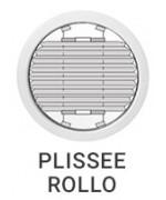 Plissee Rollo